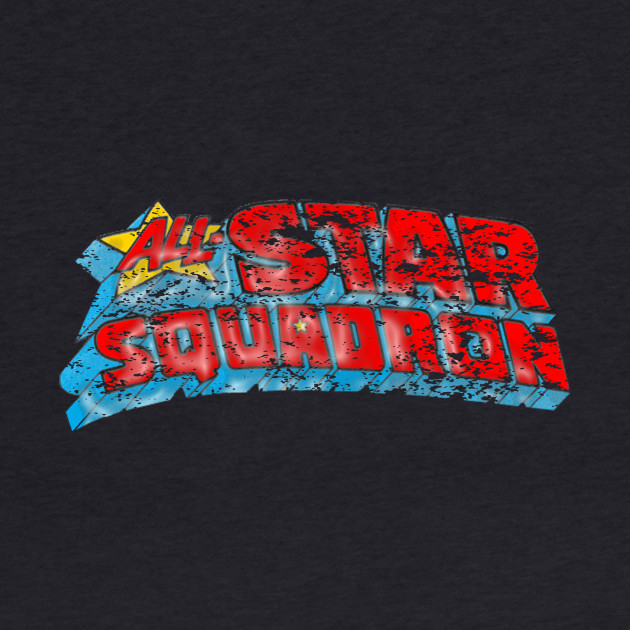 All Star Squadron distressed