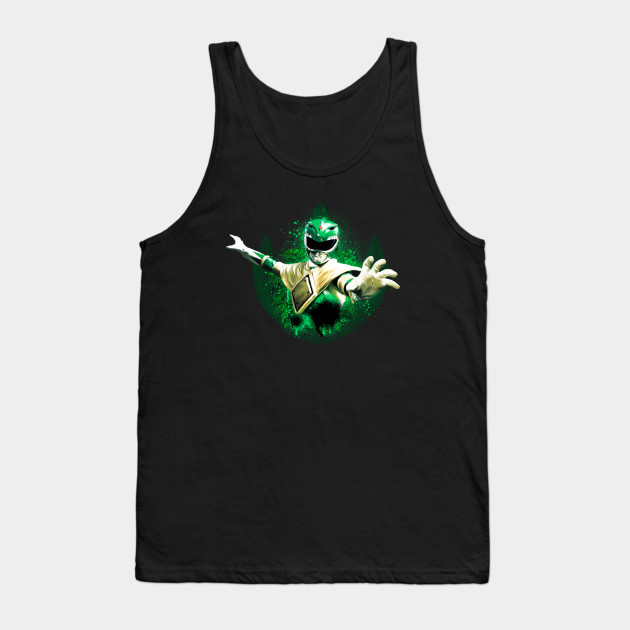Green Ranger Splatter