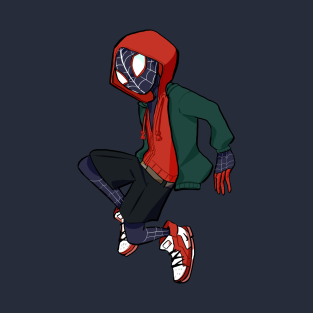 dad5566d4a2 Spider-Man  Into the Spider-Verse Miles T-Shirt