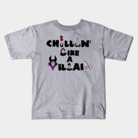 59d901dd0 Disney Villain Kids T-Shirts | TeePublic