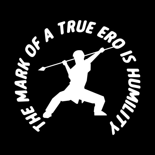 The Mark Of A True Ero Is A Humility Wushu Lover Sanda