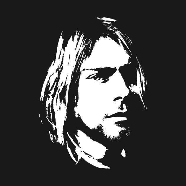 Kurt Cobain face