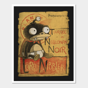 lord nibbler posters and art prints teepublic