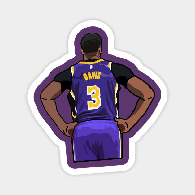 Anthony Davis Los Angeles Lakers - Anthony Davis - Magnet   TeePublic