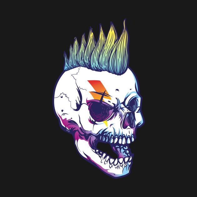 Rock Skull Punk