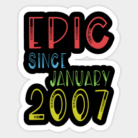 Main Tag 12 Years Old Birthday Gift Stickers