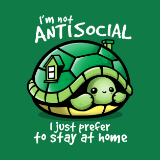 Antisocial turtle t-shirts