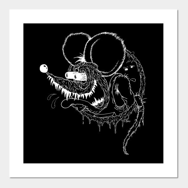 classic rat fink line version by scottbokma
