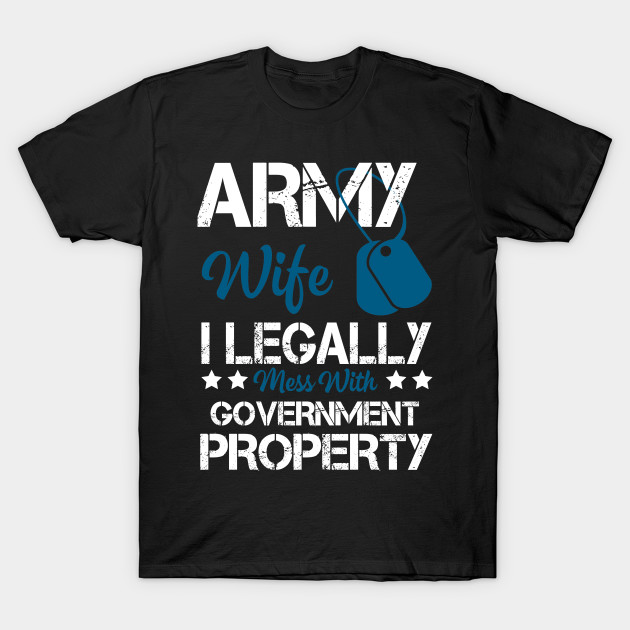 Cool Costume For Army Wife Gift Ideas T Shirt
