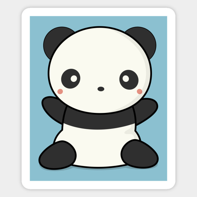 Lovely Cute Kawaii Panda Wants To Hug