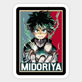 Stickers By My Hero Academia Shirts Teepublic Store
