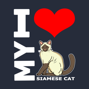 0ef4885c0 I Love My Cat T-Shirts | TeePublic