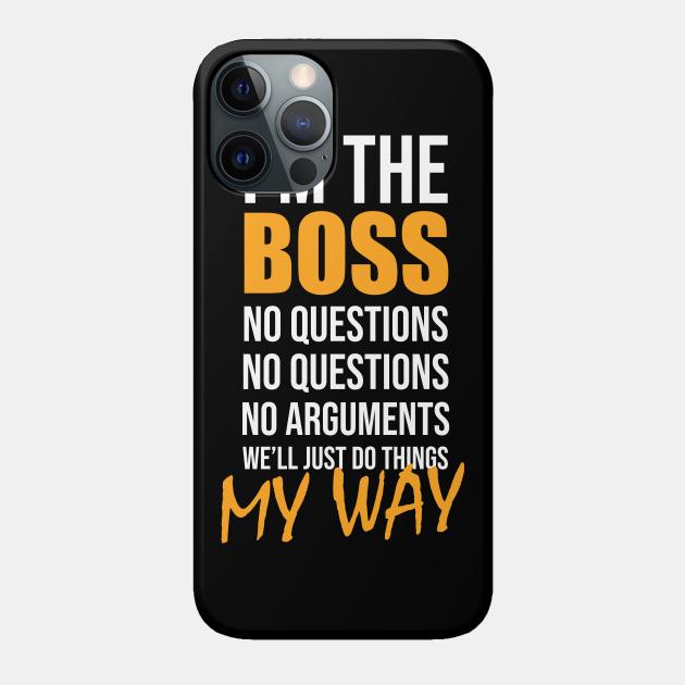 Funny boss