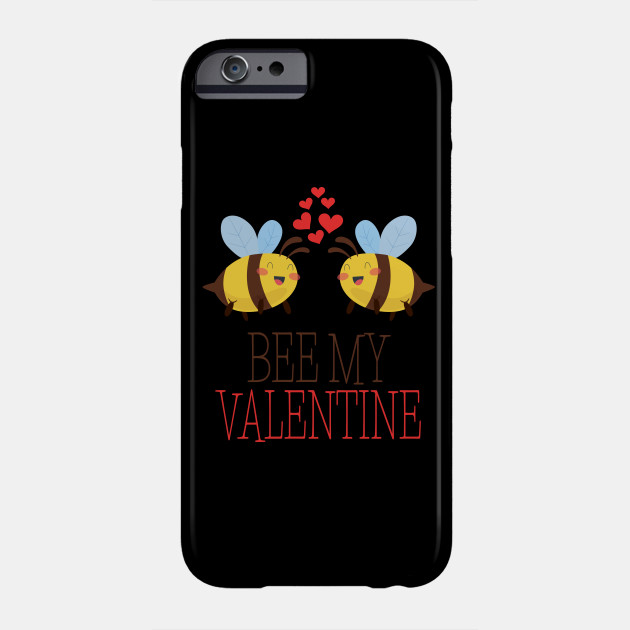 Bees Pun Funny Valentines Day Apparel Phone Case