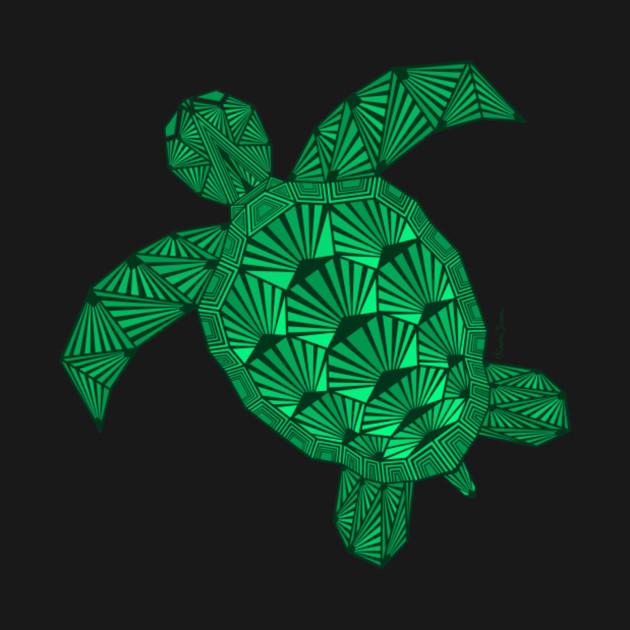 Art Deco Turtle