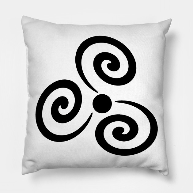 Blackhole Sun Cool Symbol Design Simple Pillow Teepublic