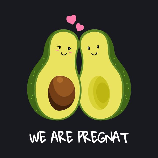 Baby Shower SHIRT Avocado New Baby pregnancy Girl Woman