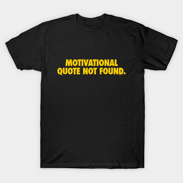 Motivational Quote Not Found