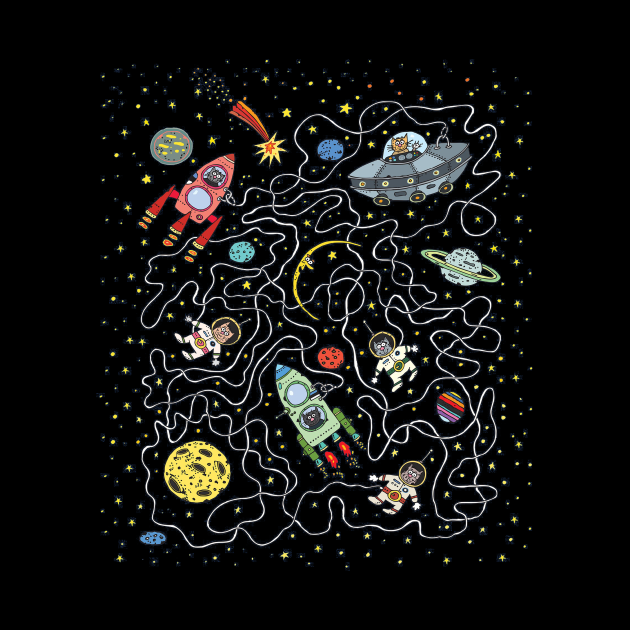 Catstronauts Cats in Space Maze
