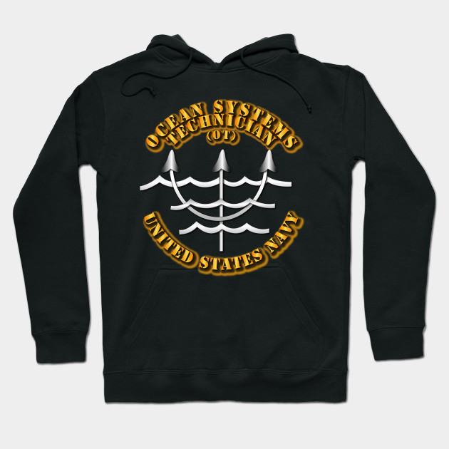 Navy - Rate - Ocean Systems Technician Hoodie