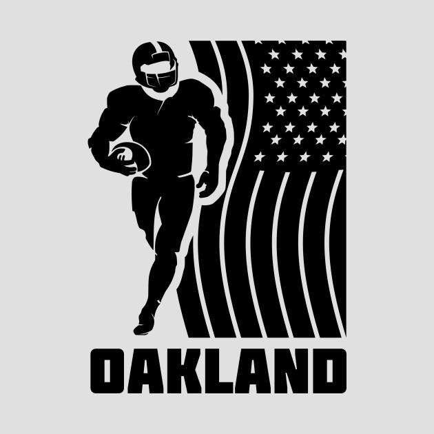 NFL Oakland Raiders Football Team Color