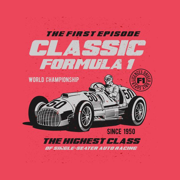 Classic formula one Race