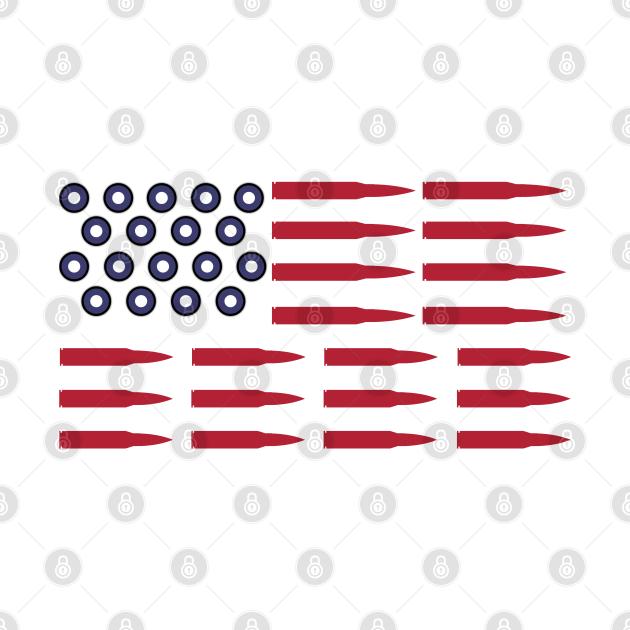 US SHELLS AMMUNITION SECOND AMENDMENT American Flag Shirt Coffee Mug Apparel Phone Case Gift for Gun Enthusiast