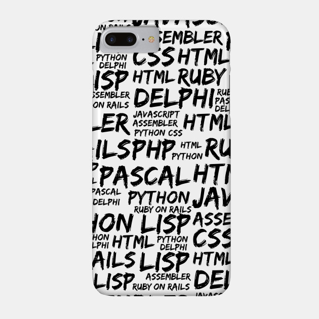 Programming Languages (Java, Pascal) - Black