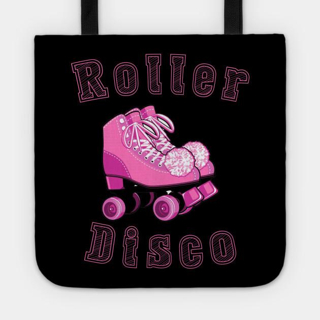 Vintage Roller Disco 80'Retro Themed Design