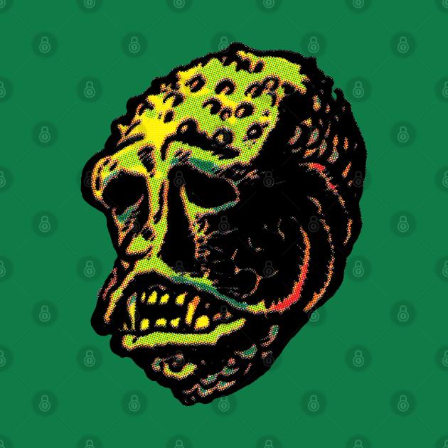 Lagoon Monster Mask T-shirt