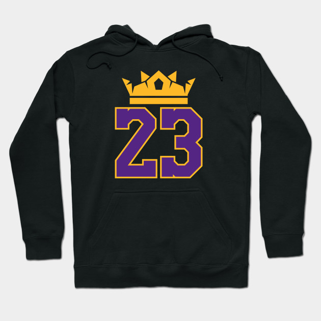76ec1e69f15a King James Lakers 23 - Lebron James - Hoodie | TeePublic