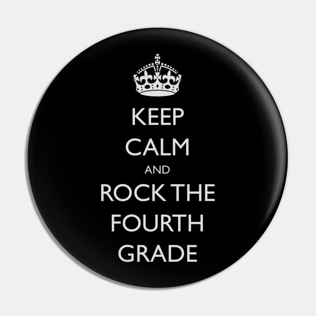 Keep Calm Back To School 4th Grade