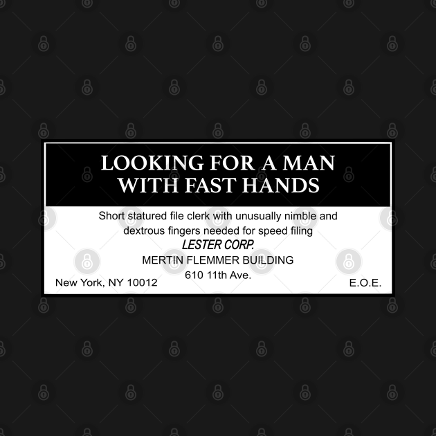 Being John Malkovich Lestercorp Classified Ad