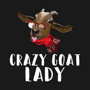81b8bd32 Crazy Goat Lady T-Shirts | TeePublic