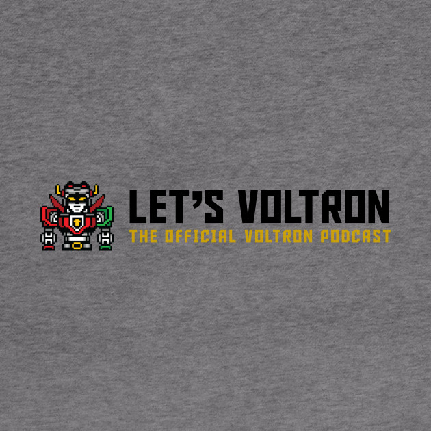 Let's Voltron Podcast (Official Wide Logo)