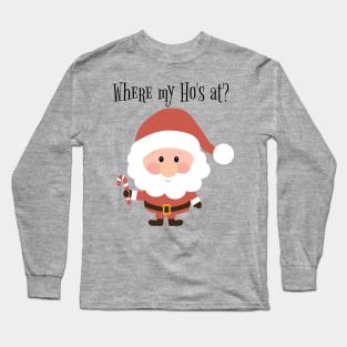 I/'ve Got Grandma New Funny Personalised Long Sleeve Baby Vest Who Needs Santa