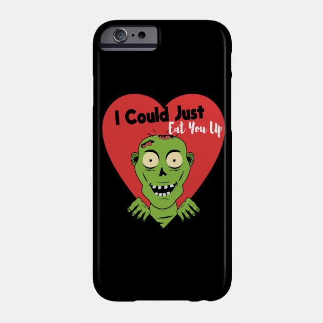 Funny Romantic Zombie Halloween Phone Case