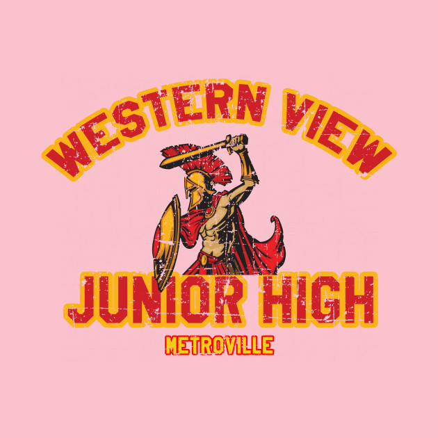 Western View Junior High distressed from Incredibles 2