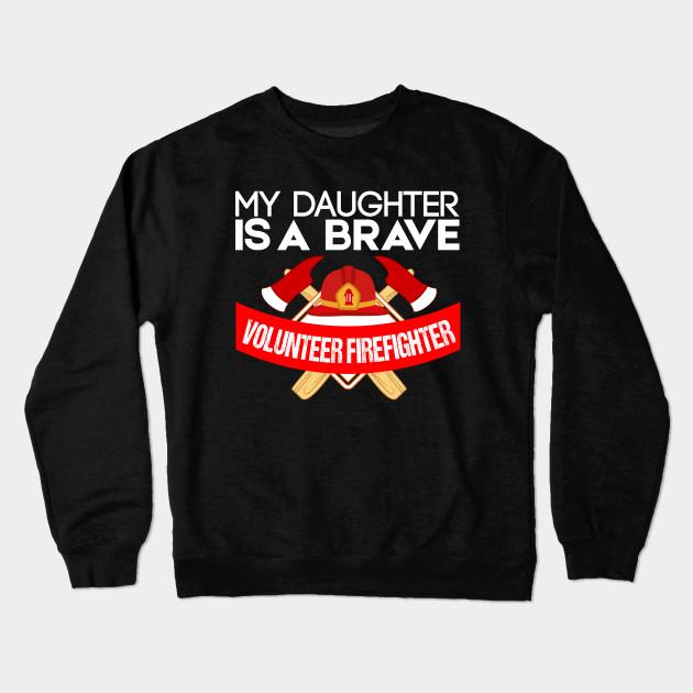 f8664033 Volunteer Firefighter Shirts - Volunteer Firefighter - Crewneck ...