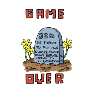 Game Over t-shirts