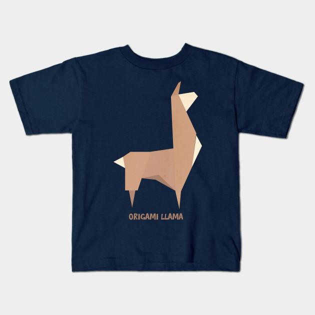 Origami Llama Llama Kids T Shirt Teepublic