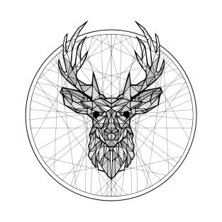 Geometric Stag t-shirts