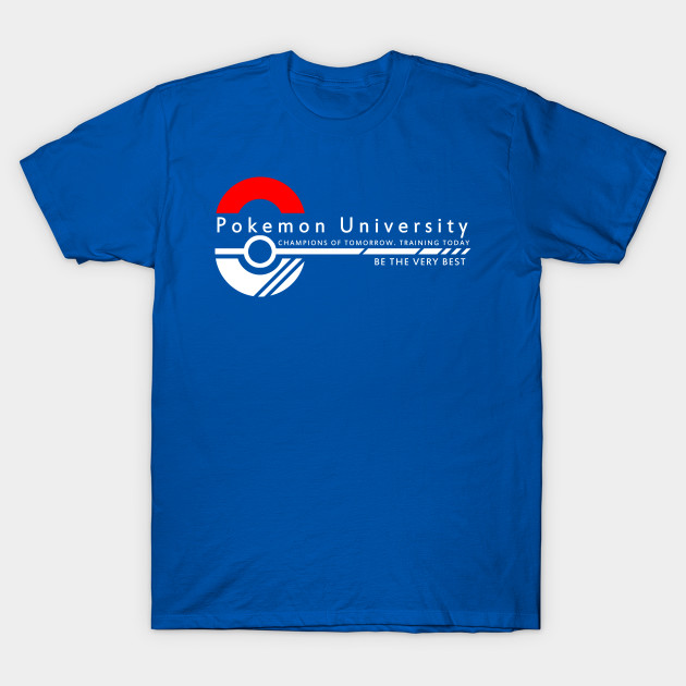 Pokemon University College Wear Pokemon T Shirt