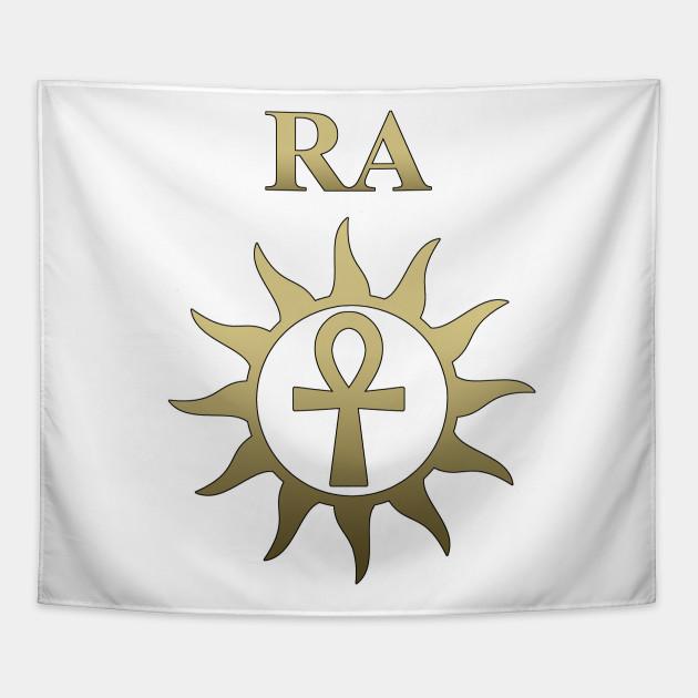 Ra Ancient Egyptian God Ankh Of The Sun God Egyptian Gods