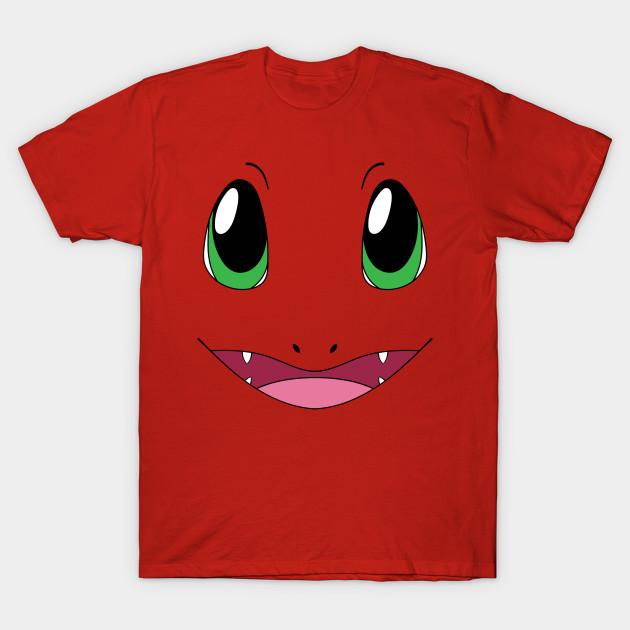 8508ccb7 Charmander face - Charmander - T-Shirt | TeePublic