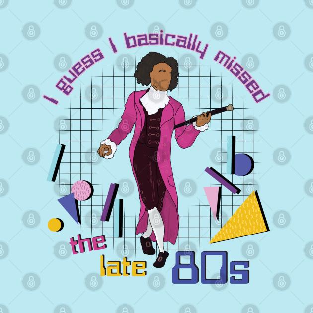 Jefferson - I basically missed the late 80s - retro inspired Ham fan art