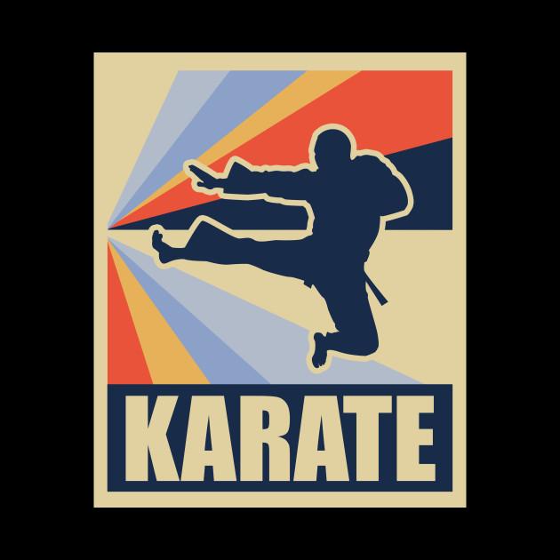 Karate Martial Arts Kicks Gift