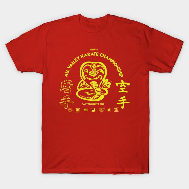 84e435f06 Cobra Kai 2 - Cobra Kai - T-Shirt | TeePublic