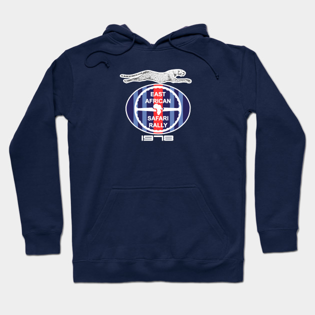 East African Safari Rally 78 Martini Hoodie