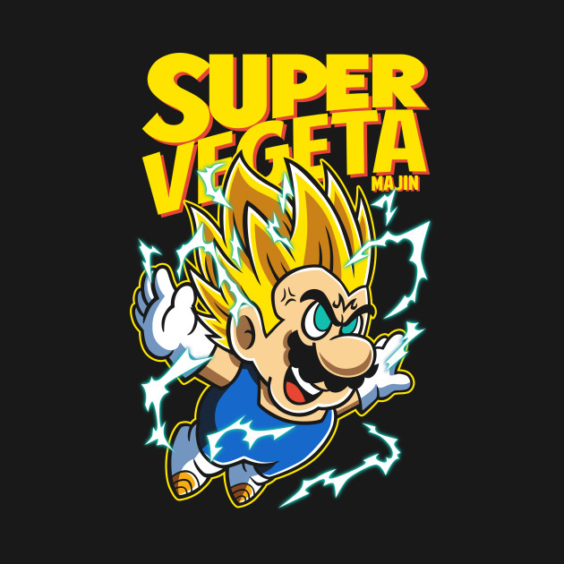 Super Vegeta Bros
